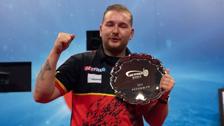 Dimitri Van den Bergh suffered defeat in the final as he fell agonisingly short of defending the title he won last year