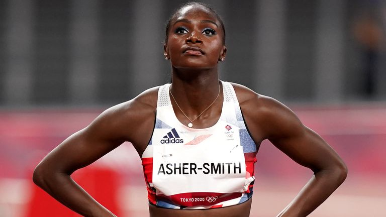 Dina Asher-Smith has opened up on her injury heartache in Japan