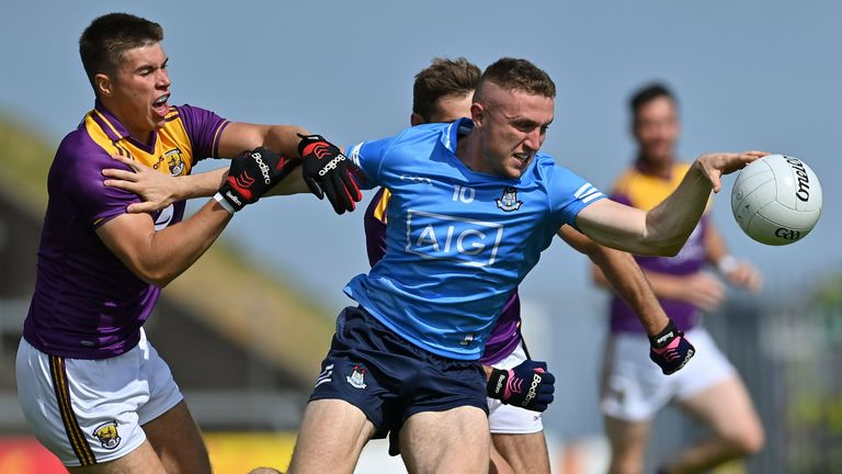Wexford provided stiff opposition on Sunday