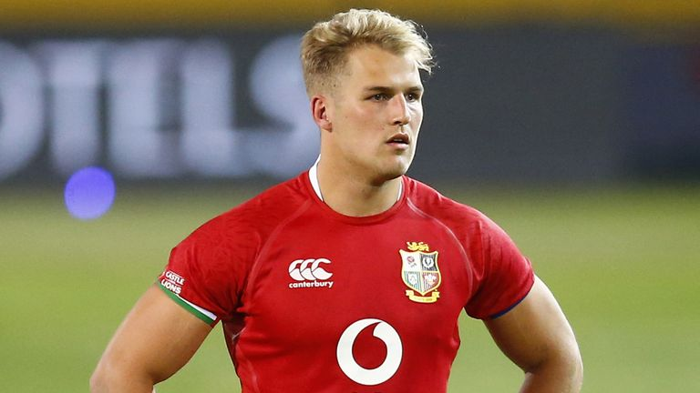 Lions wing Duhan van der Merwe will be up against it to keep his place after he was sin-binned and dropped numerous high balls