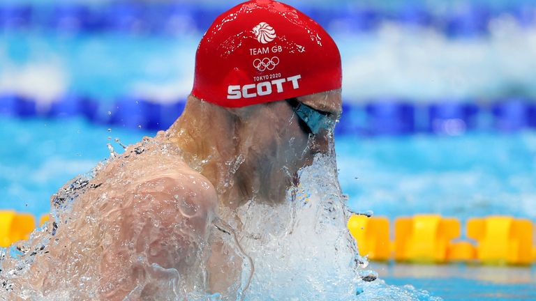 Duncan Scott picked up his third Tokyo 2020 medal on Friday