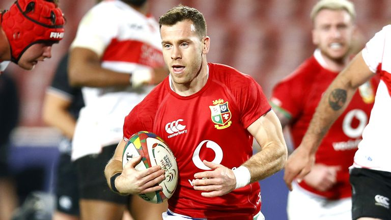 Gareth Davies is set to start at scrum-half for the Lions on Wednesday