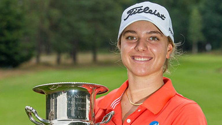 Stephanie Kyriacou is now second in the Race to Costa del Sol standings