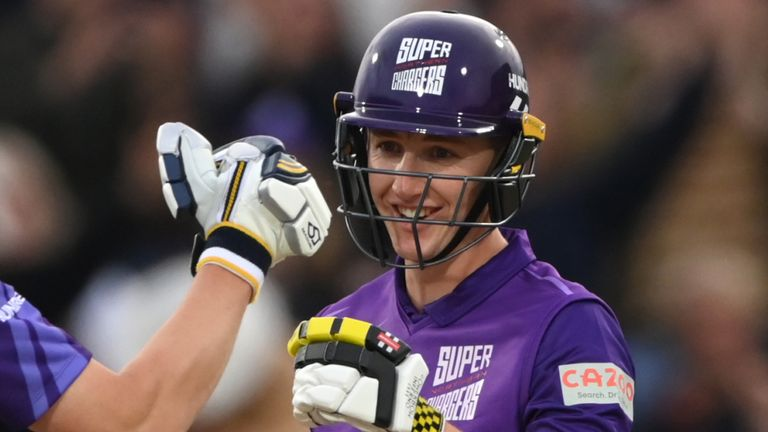 Harry Brook nailed five sixes and three fours in a brilliant innings for Northern Superchargers against Welsh Fire in The Hundred