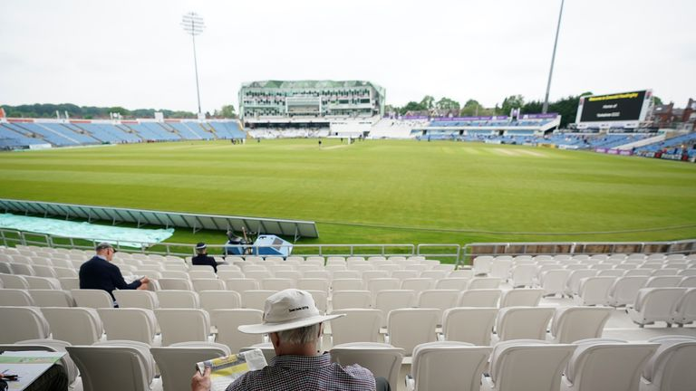 Wet weather has forced the Roses clash at Headingley to be postponed