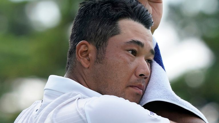 Hideki Matsuyama made six birdies in his opening 16 holes