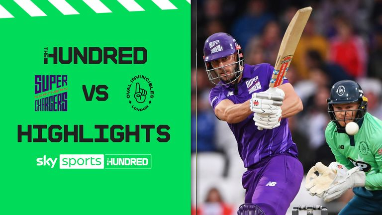 Watch the highlights of the thrilling match between the Northern Superchargers and the Oval Invincibles