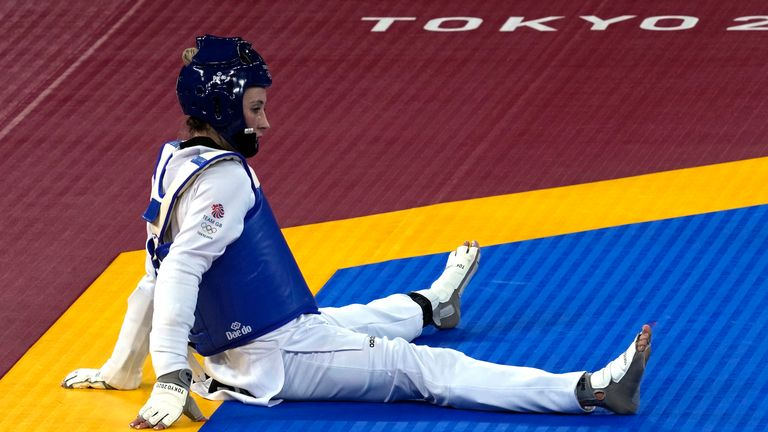 Jade Jones was looking to make British history by becoming the first woman to win gold at three consecutive Olympics