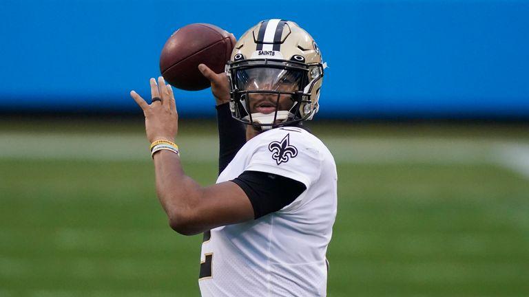 Jameis Winston looks set to enter the season as starting quarterback for the Saints (AP)