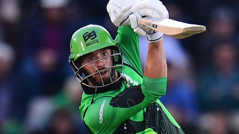 Southern Brave captain James Vince was Hero of the Match for his 60 from 38 balls