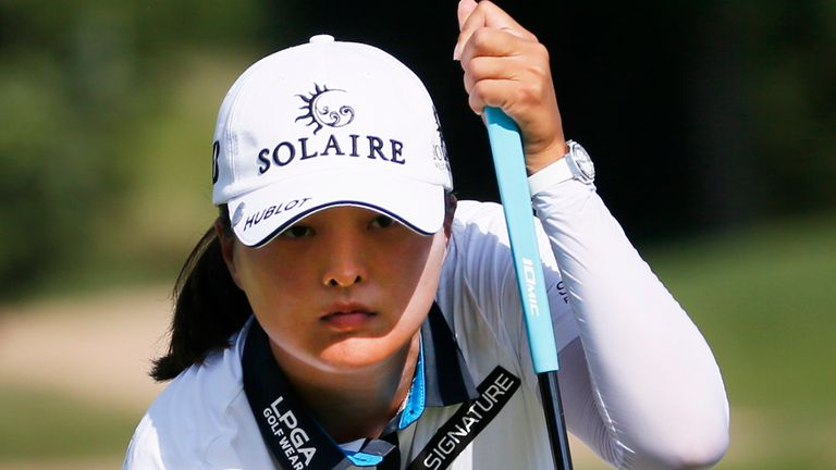 Jin Young Ko's win comes in her first event since losing the world No 1 spot