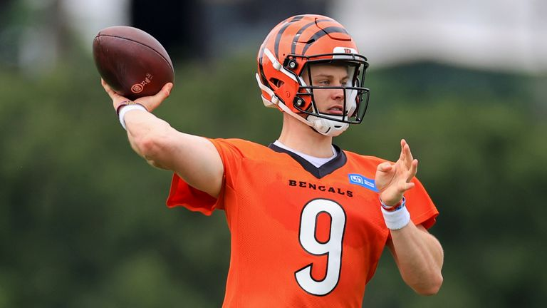 Joe Burrow will be back for the Bengals (AP)