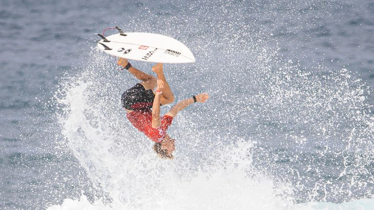 John John Florence earned a spot at Tokyo 2020 at the expense of Kelly Slater, widely regarded as the greatest surfer of all time