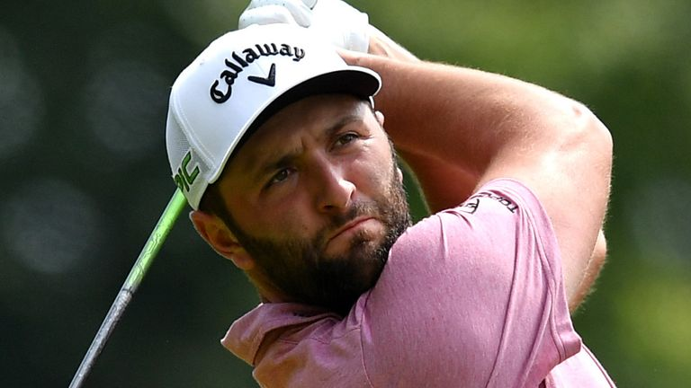 Jon Rahm will play alongside Harris English and Abraham Ancer during the opening round in New Jersey