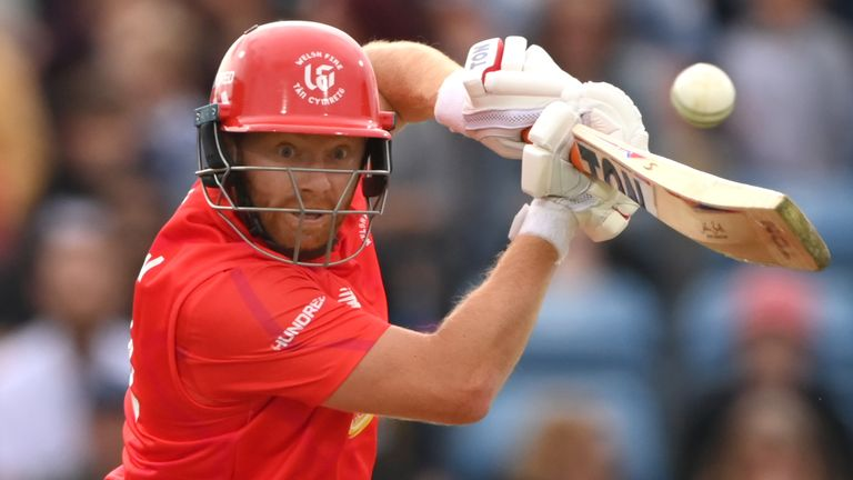 Jonny Bairstow smashed a fantastic 56 off just 36 balls for Welsh Fire