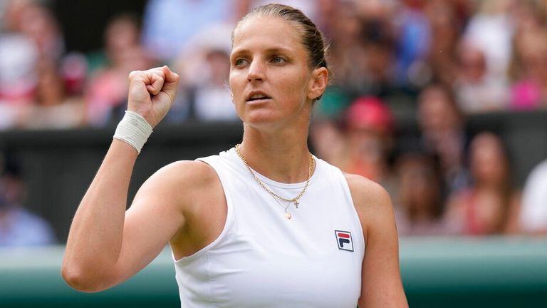 Karolina Pliskova came through in three sets against Aryna Sabalenka to reach Saturday's final