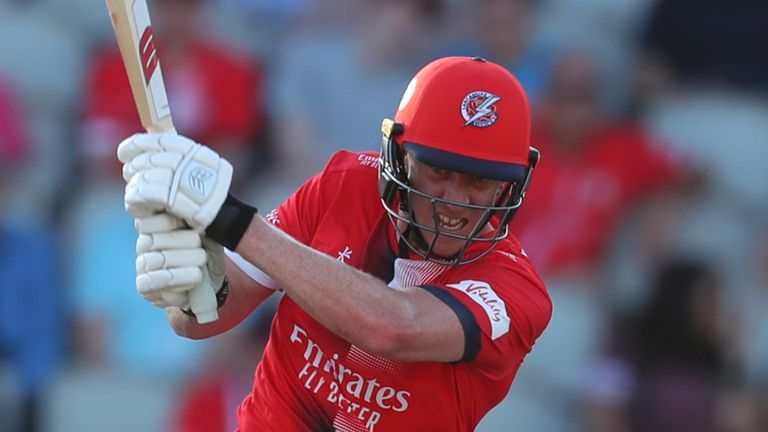 Royal London One-Day Cup: Danny Lamb stars as Lancashire stun Sussex in comeback