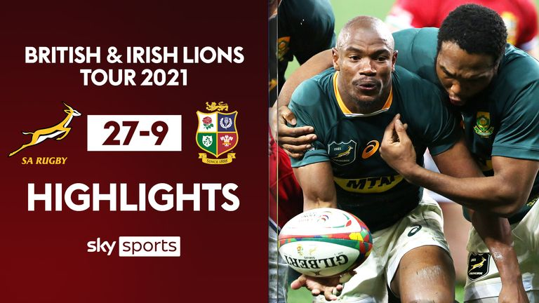 Highlights of the second Test between South Africa and the British and Irish Lions from Cape Town.