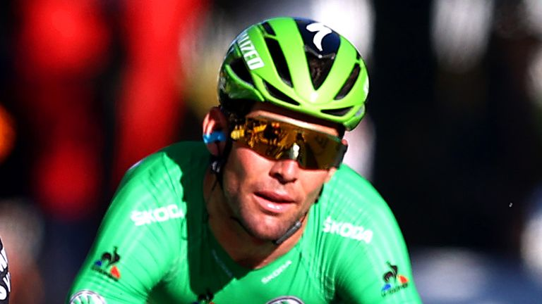 It wasn't to be for Mark Cavendish on Stage 21 of the Tour de France (Photo by Michael Steele/Getty Images)