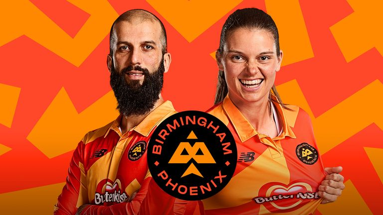 Meet the captains! Moeen Ali and Amy Jones will skipper Birmingham Phoenix in the inaugural edition of The Hundred