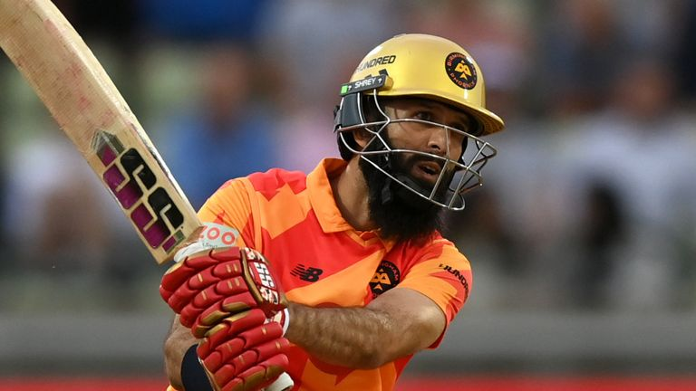 Moeen Ali spearheaded the Phoenix innings with a blistering batting display