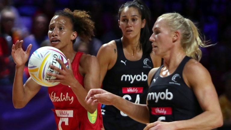 New Zealand vs England: Serena Guthrie to captain Vitality Roses for a three-game series |  Netball News