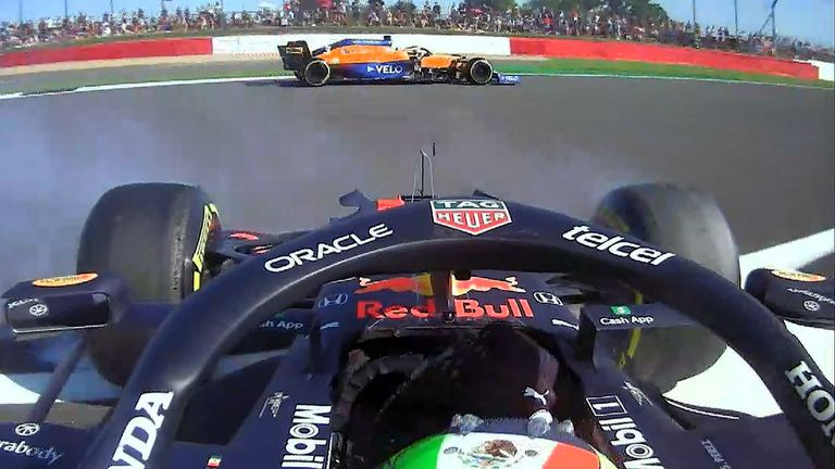 A big spin from Sergio Perez, no real damage for the Red Bull driver done apart from dropping down to P18