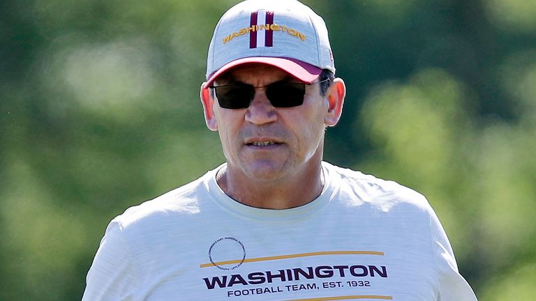 """Ron Rivera: Washington football head coach """"frustrated"""" with low NFL vaccine intake 
