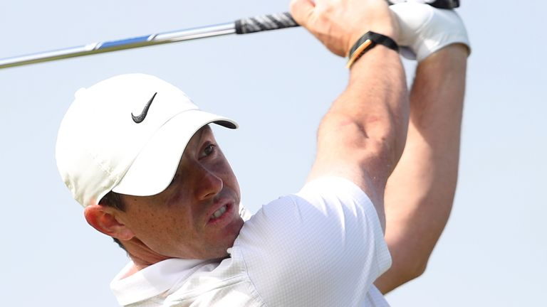 McIlroy was happy with his driving on day one