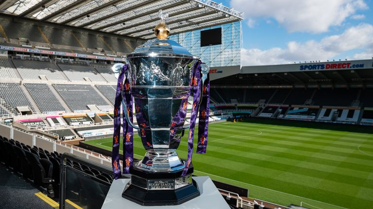 St James' Park will host the opening game of the postponed Rugby League World Cup on October 15 next year