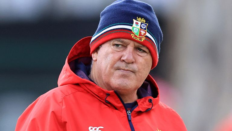 Warren Gatland is unhappy with the lack of a neutral TMO for Saturday's first test