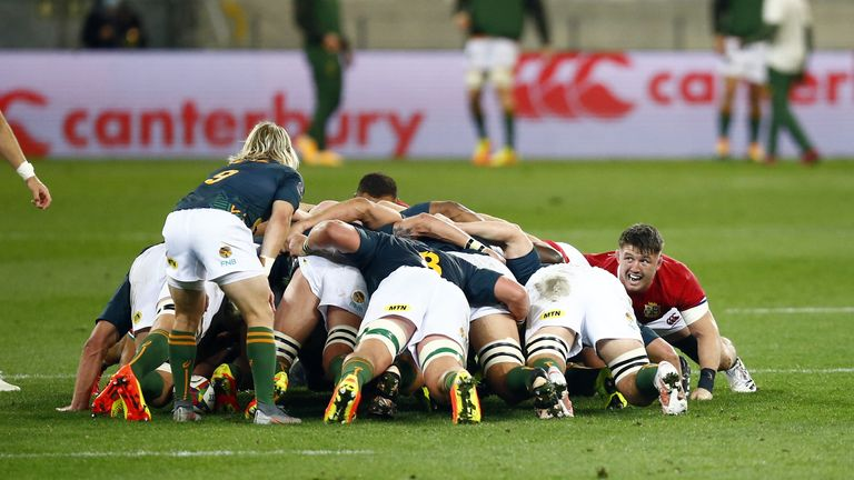 The Springboks will no longer be able to take on the Lions in a Test at altitude