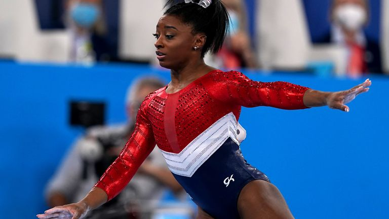 Three more medals in Tokyo would make Biles the most successful gymnast in history