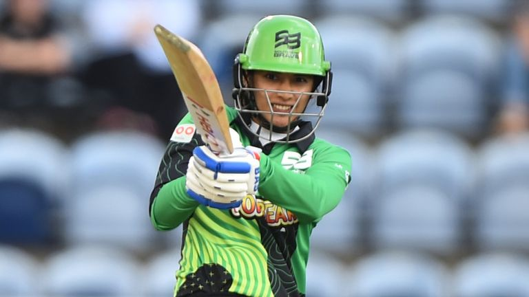 Smriti Mandhana scored 61 from 39 balls for the victorious Southern Brave team