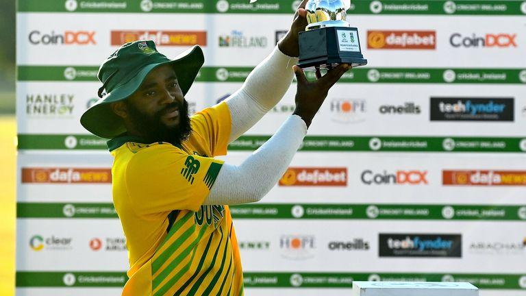 South Africa seal 3-0 T20 series sweep over Ireland as Temba Bavuma and Reeza