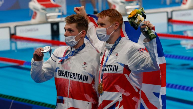 Team GB gold medallist Tom Dean and silver medallist Duncan Scott reflect on their one-two finish in the 200m freestyle