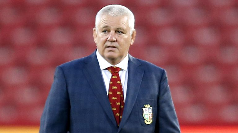Gatland queried the yellow card shown to De Klerk, Erasmus as water boy and also claims Erasmus has tried to intimate the Lions are 'scared'