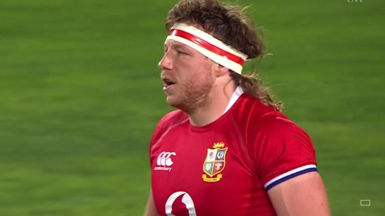 Openside flanker Hamish Watson was named man of the match in the Lions' victory over the Sigma Lions