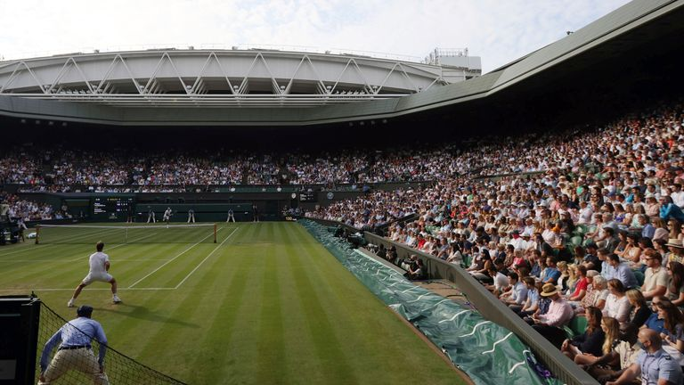 Wimbledon will see the first full-capacity outdoor stadium crowd since the pandemic began