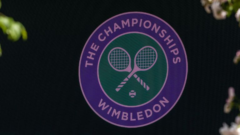 The matches were during this year's Championships at the All England Club
