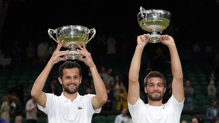 This is the first Grand Slam title that Nikola Mektic and Mate Pavic have won as a partnership