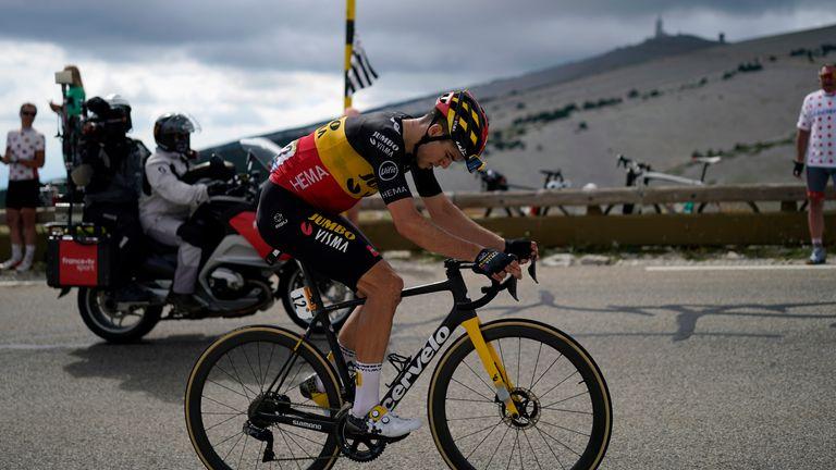 Wout van Aert was an impressive winner of Stage 11 of the Tour de France on Mont Ventoux