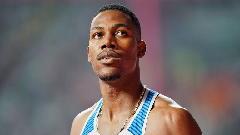 Hughes has been selected to represent Team GB in the 100m event alongside Reece Prescod and Chijindu Ujah