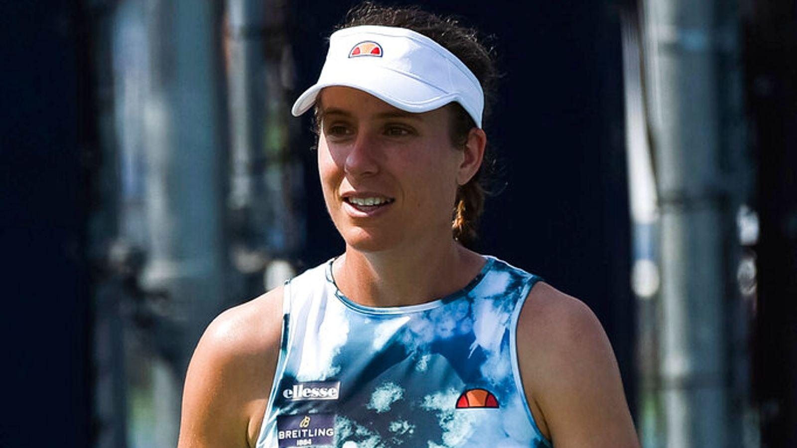 Johanna Konta dealt with a 'massive range of symptoms' after catching COVID-19