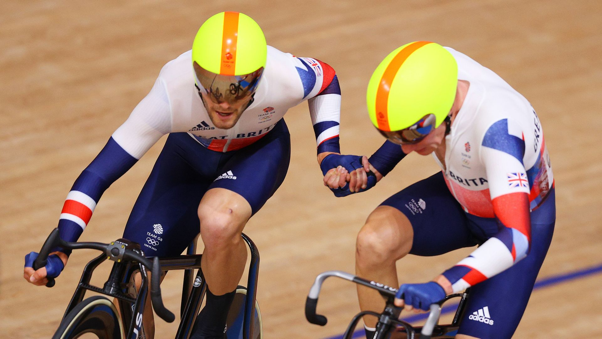 Hayter and Walls win cycling silver for Team GB