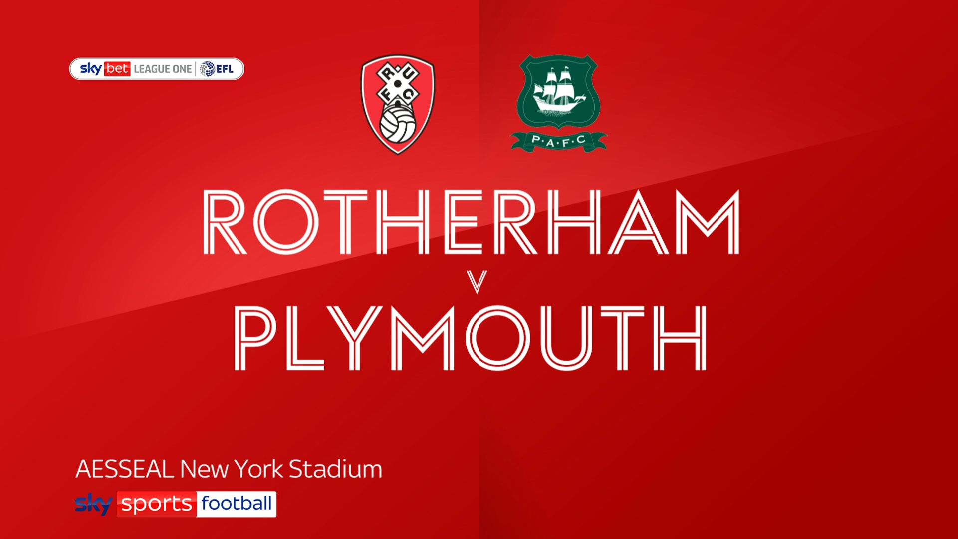 Rotherham see off Plymouth on L1 return