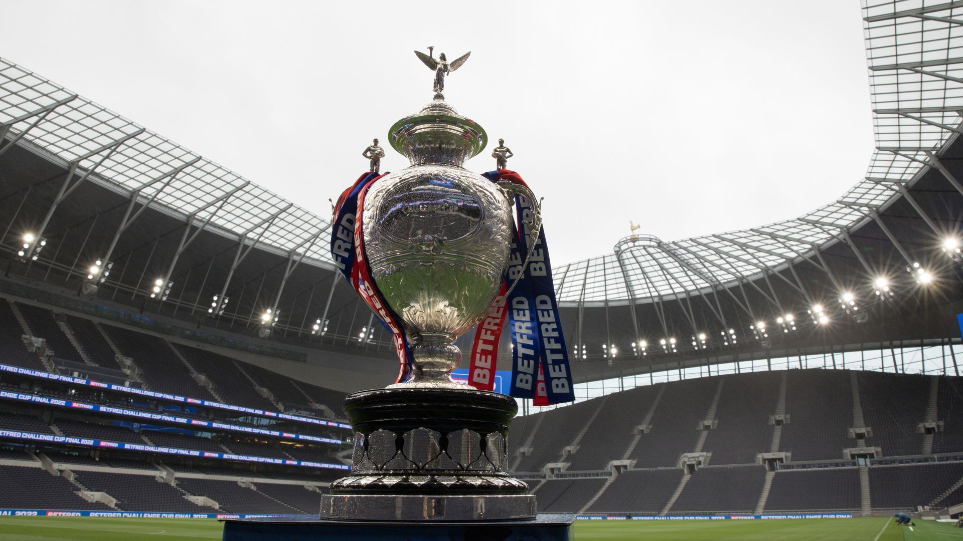 Challenge Cup final to take place at Spurs' stadium in 2022