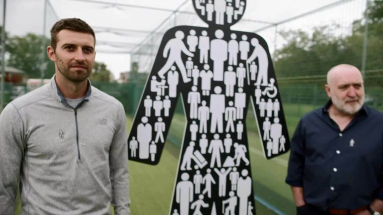 England fast bowler Mark Wood - World Cup winner and Ashes winner - and his dad Derek discuss his cricketing beginnings as Prostate Cancer UK celebrates the importance of men showing appreciation for one another.