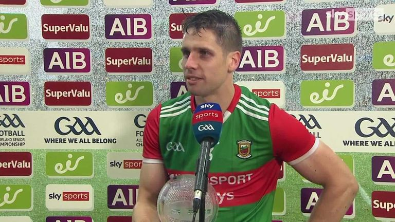 Lee Keegan says the victory is a major milestone for Mayo