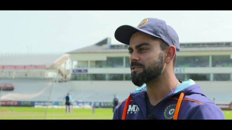 India captain Virat Kohli talks to Dinesh Karthik about what it will take to win a Test series in England. Watch the full interview during the first Test